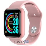 Smartwatch Generic cu Bluetooth, monitorizare ritm cardiac, notificari, functii fitness S176